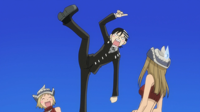 File:Soul Eater Episode 3 HD - Kid irritated by asymmetry.png