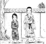 Masamune and Tsubaki as kids