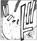 Soul Eater Chapter 95 - Kid's First Line of Sanzu decimates Colossus Clown
