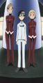 Soul Eater Episode 18 SD - Kid and Thompsons at party