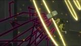 Marie stops Medusa's vector arrows.
