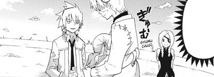 Soul Eater Chapter 62 - Maka hugs Stein