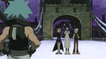 Soul Eater Episode 13 HD - Black Star watches Tsubaki, Maka, Soul Evans