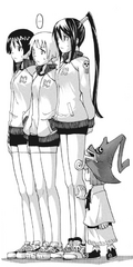 Soul Eater Chapter 61 - Tsubaki, Kim, Jackie, and Angela