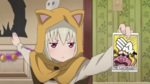 Soul Eater NOT Episode 10 HD - Kana shows the Banishment Tarot Card
