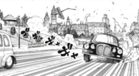Soul Eater NOT Chapter 38 - Alfred drives away