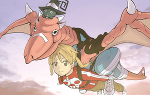 Dragon on Cover of Chapter 82