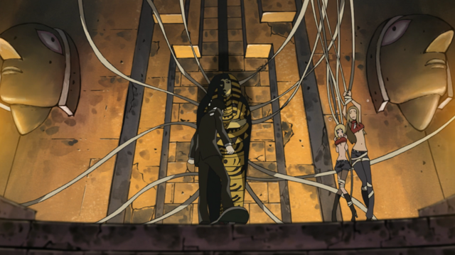 File:Soul Eater Episode 3 HD - Pharaoh holds Thompsons captive.png