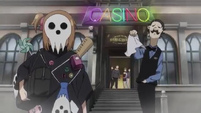Soul Eater NOT Episode 9 - Death City casino