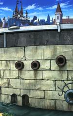 Soul Eater Episode 24 HD - Death City snake sewer