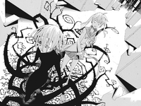 Soul Eater Chapter 96 - Crona's vines block Maka