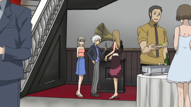 File:Soul Eater Episode 31 HD - Gallows Mansion party 1.png