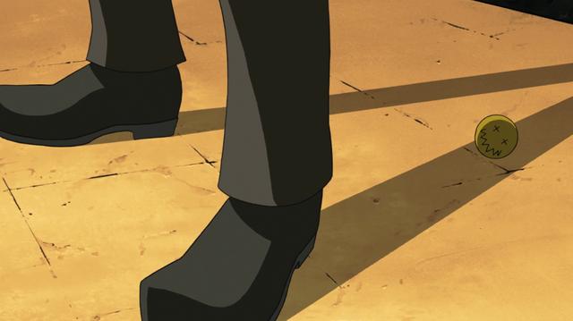 File:Soul Eater Episode 3 HD - Pharaoh's symbol falls.png