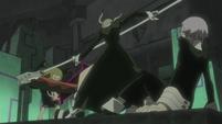 Soul Eater Episode 45 HD - Maka and Crona vs Medusa (1)