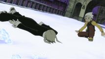 Soul Eater Episode 13 HD - Maka down