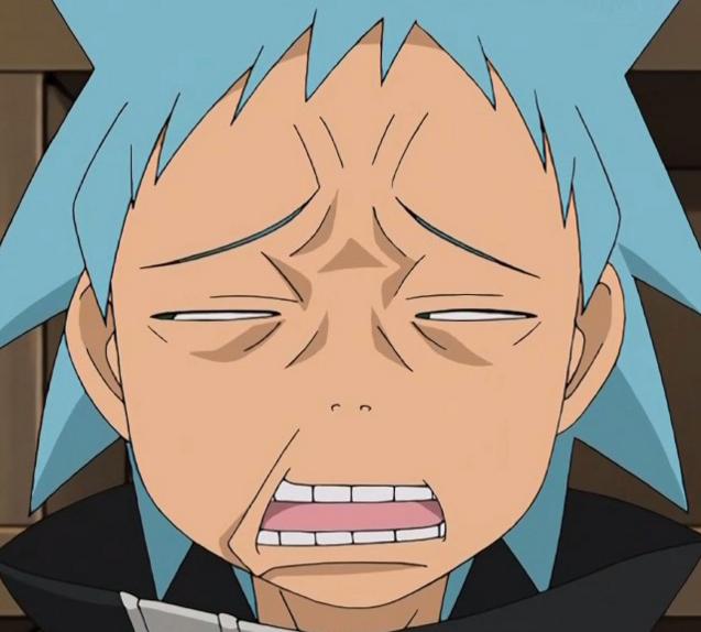 Anime reaction faces soul eater