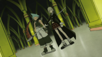 Soul Eater Episode 19 HD - Maka blocks Black Star