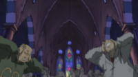 Soul Eater Episode 7 HD - Materazzi deafened by Screech Attack