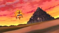 Soul Eater Episode 38 HD - Death City, sunset