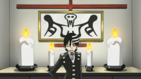 Soul Eater Episode 3 HD - Kid pleased to have symmetrical living room