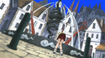 Soul Eater Episode 39 HD - Maka searches for Crona at Death City fountain