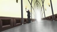 Soul Eater Episode 25 HD - Spirit DWMA hallway 1
