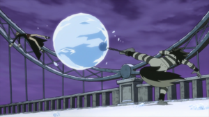 Soul Eater Episode 13 HD - Free attacks Maka with Ice Sphere