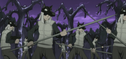 Soul Eater Episode 13 HD - Witch Prison guards surround Free (STITCHED)