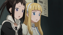 Soul Eater NOT Episode 10 HD - Anya and Tsugumi learn Sid is dead