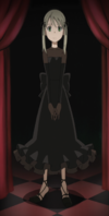 Soul Eater Episode 20 SD - Maka Albarn Black Blood Dress