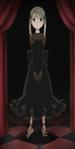 Soul Eater Episode 20 SD - Maka Albarn Black Blood Dress