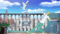 Soul Eater Episode 32 HD - Excalibur on Hero's balcony (2)