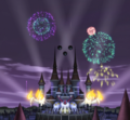 Soul Eater Episode 18 HD - Fireworks at DWMA (stitched)