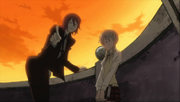 Episode 9 - Maka and Spirit conversing about Maka's mother