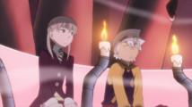 Soul Eater Episode 13 HD - Maka and Soul Evans meet Stein at DWMA