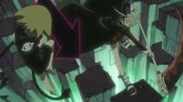 Soul Eater Episode 45 HD - Maka and Crona vs Medusa (17)