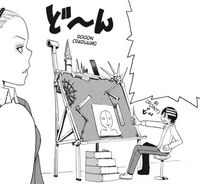 Soul Eater Chapter 12 - Kid diagrams Liz's eyebrows