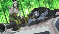 Soul Eater Episode 27 - Sid Mira and Azusa during their mission