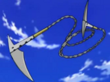 Tsubaki Mode Change: Chain Scythe