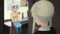 Episode 12 - Maka visits Soul in the Nurse's Office