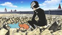 Soul Eater Episode 38 HD - Kid defeats Black Star (2)