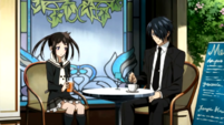 Soul Eater NOT Episode 4 - Death City cafe 2