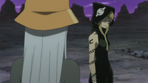 Soul Eater Episode 13 HD - Medusa sneers at Eruka
