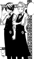 Akane and Clay Waiters