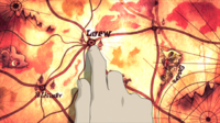 Soul Eater Episode 27 HD - Loew map