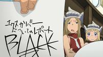 Soul Eater Episode 17 HD - Liz unimpressed with Black Star