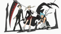 Soul Eater Episode 51 - Credits, Three Meisters
