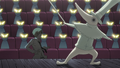 Soul Eater Episode 32 HD - Movie audience angry at Hero and Excalibur