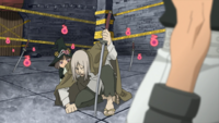 Soul Eater Episode 2 HD - Mifune shields Angela 1