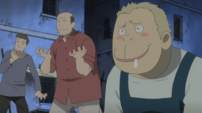 Soul Eater Episode 24 HD - Fish Dealer and Death City residents lustful